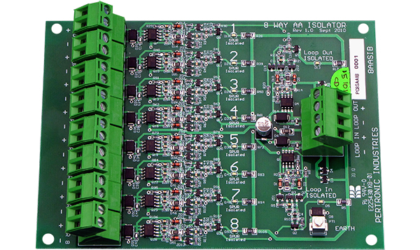8 Spur Isolator Board